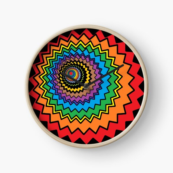 Multicolor Star Clock