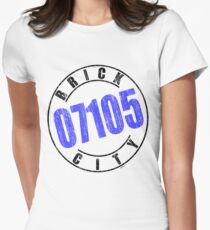 'Brick City 07105' Women's Fitted T-Shirt