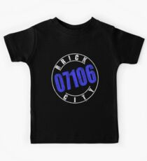 'Brick City 07106' (w) Kids Tee