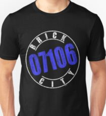 'Brick City 07106' (w) Unisex T-Shirt