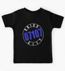 'Brick City 07107' (w) Kids Tee