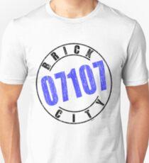 'Brick City 07107' Unisex T-Shirt