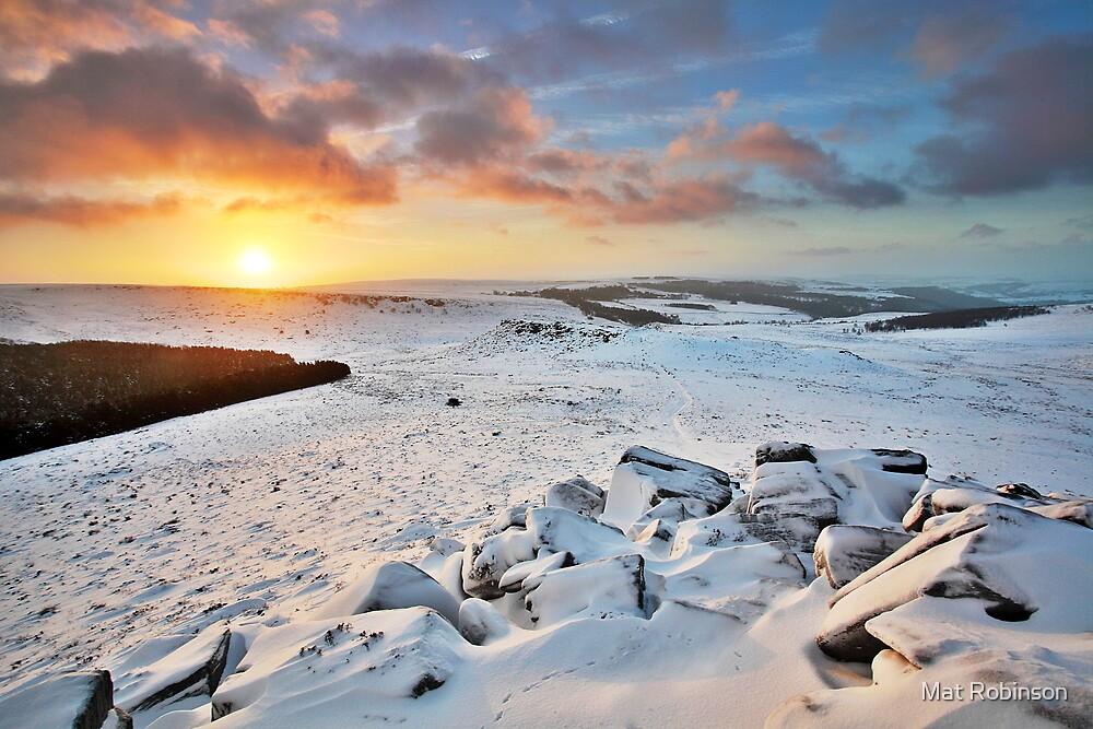 Sunrise Atop Higger by Mat Robinson