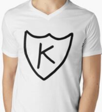 Kurt Cobain - K tattoo, K records  Men's V-Neck T-Shirt