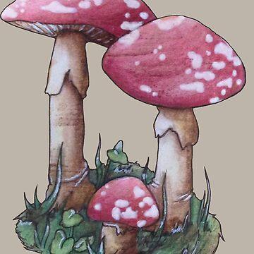 Magic Mushroom by domogatcha