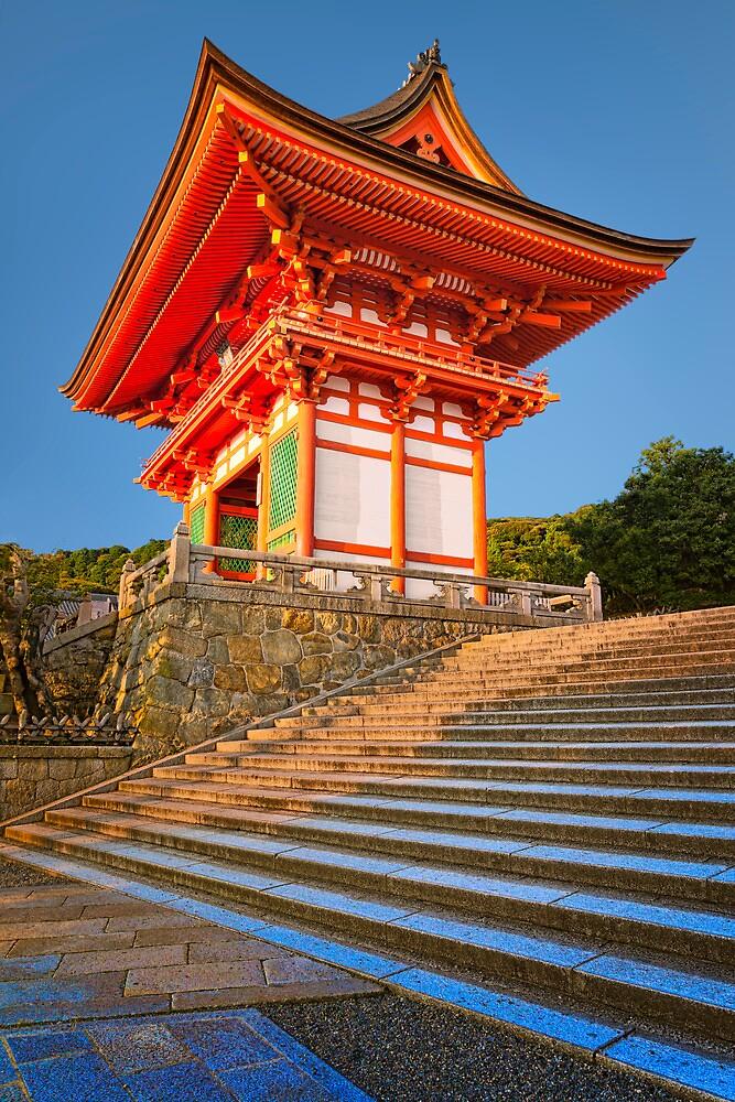 Entrance pagoda by Yves Rubin