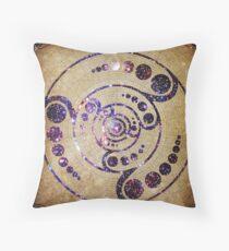 The Harmonious Circle  Throw Pillow