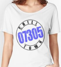 'Chilltown 07305' Women's Relaxed Fit T-Shirt