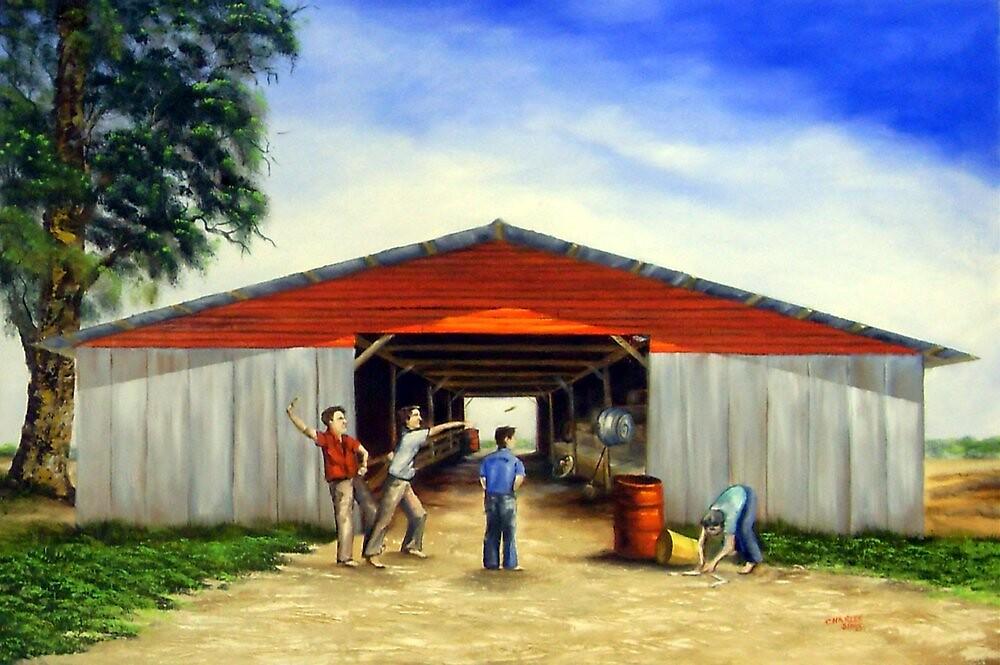Corn Cob Wars by Charles Sims