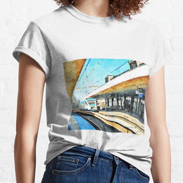 Train in Pescara railway station Classic T-Shirt