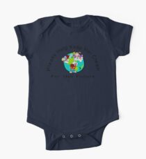 Earth Day Please Keep Her Clean One Piece - Short Sleeve