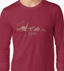 Jurassic Zoological Gardens  Long Sleeve T-Shirt