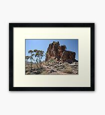 Corroboree Rock Framed Print