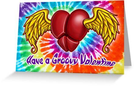 Happy Hippie Valentines Day by davidkyte