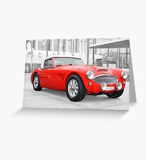 Austin Healey 300 MkII Greeting Card