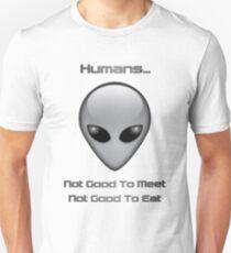 Neila the Grey - Meet'n'Eat Unisex T-Shirt