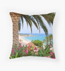 Tarragona Spain Throw Pillow