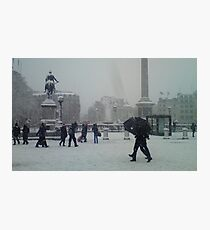 Travalgar in the Snow. Photographic Print