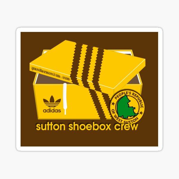 Sutton Shoebox Crew Sticker