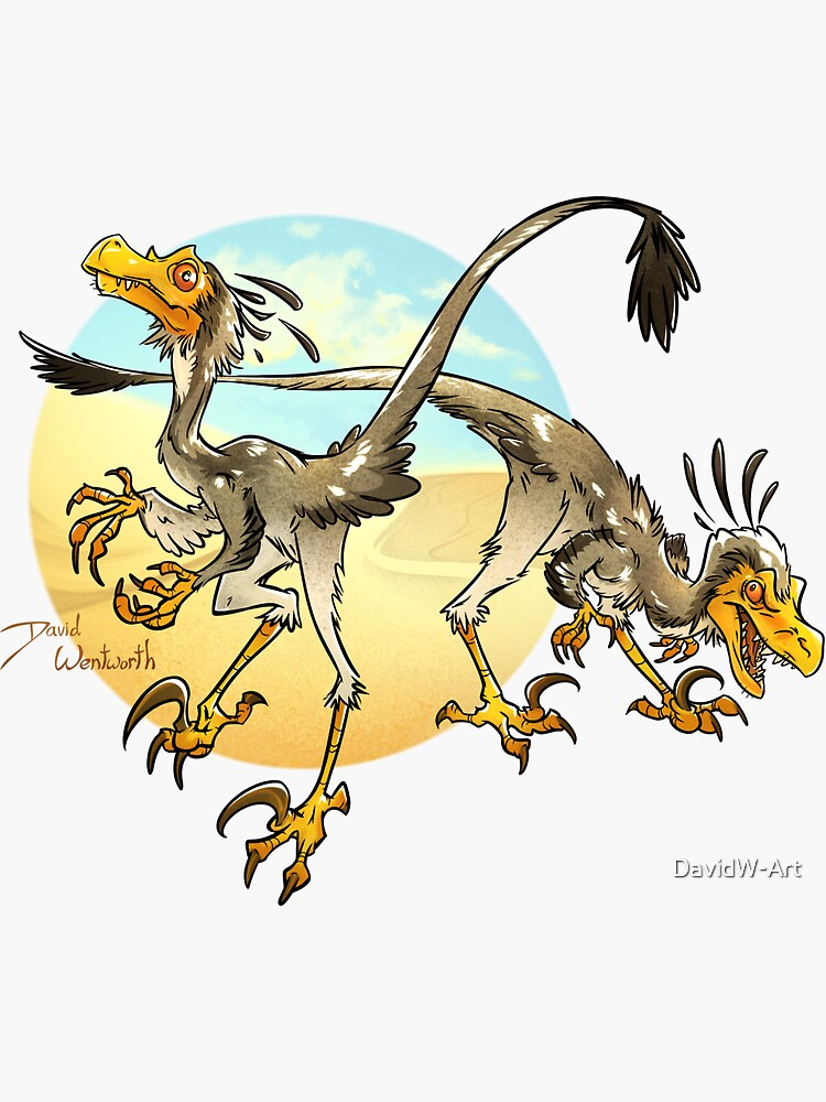 Desert Raptors by DavidW-Art
