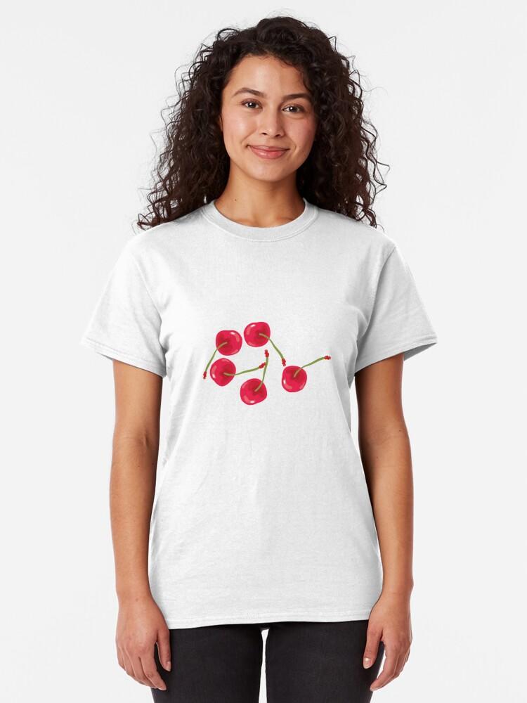 Alternate view of Sweet Cherries Classic T-Shirt