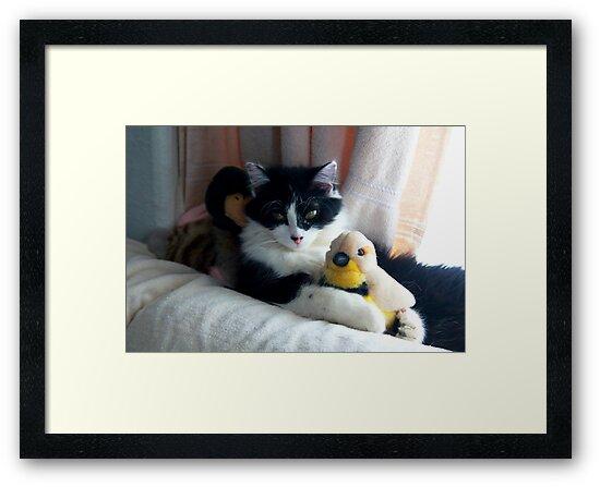 Cuddlesome Threesome by Arla M. Ruggles