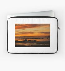 Seasmoke at Dawn Laptop Sleeve