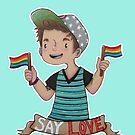 Say Love  by Rayne Karfonta