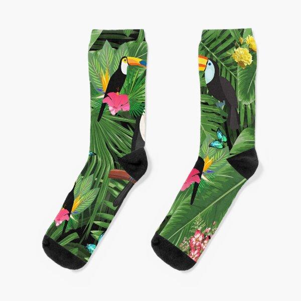 Tukan tropischer Socken