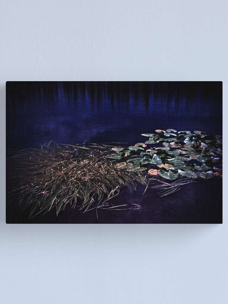 Alternate view of Lily Love by Night Canvas Print