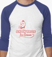 Snow Bros Ice Cream Men's Baseball ¾ T-Shirt