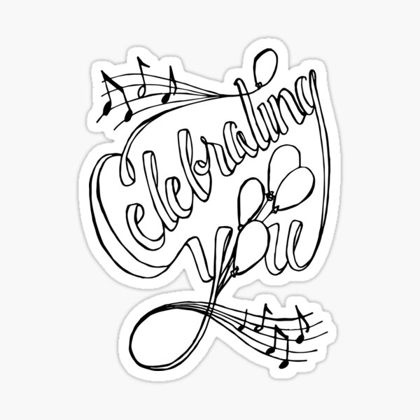 ColorMe - Celebrating You Sticker