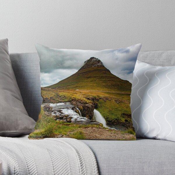 Kirkjufell, Iceland Throw Pillow