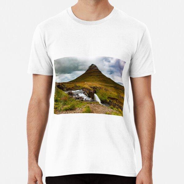 Kirkjufell, Iceland Premium T-Shirt