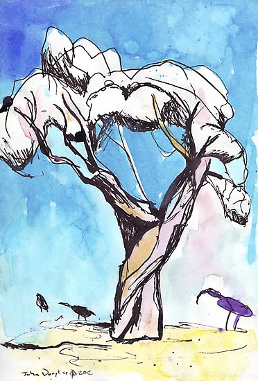 Tree Study by John Douglas