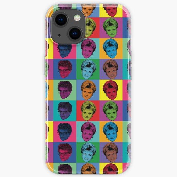 PopArt Jessica Fletcher iPhone Soft Case