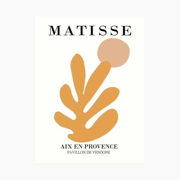 Henri Matisse - Cutout Design - Exposición Henri Matisse - IMPRESIONES Lámina artística