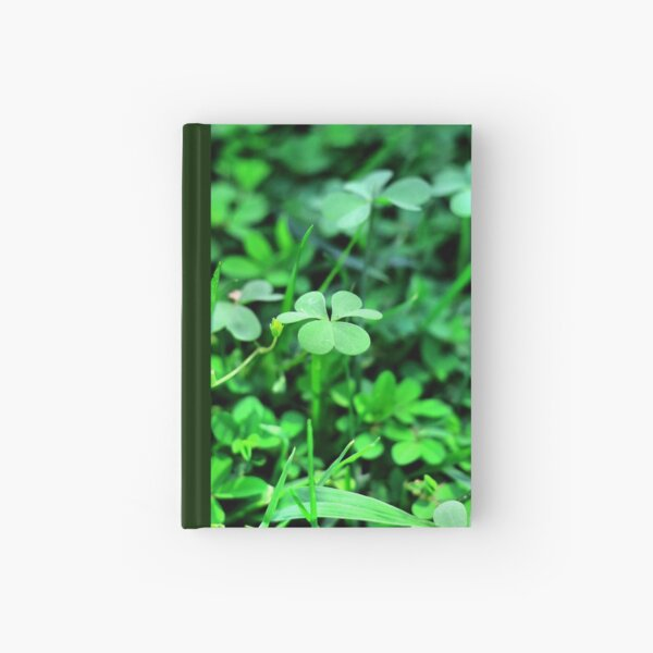 Clover Stay Hardcover Journal