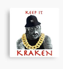 KEEP IT KRAKEN Metal Print