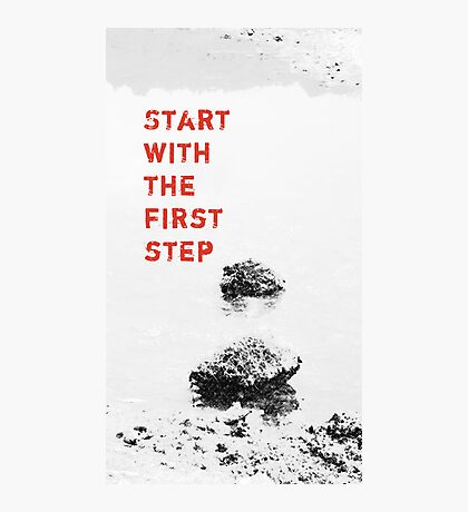 The First Step  VRS2 Photographic Print