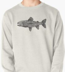 Doodle of Trout Pullover