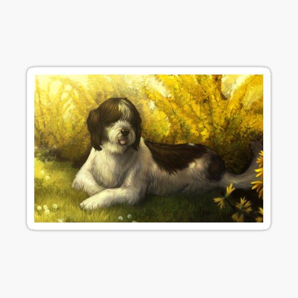 Jake the Sheepdog (sleepy sheepy) Sticker