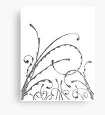 Field Of Doodle Metal Print