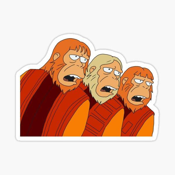 Dr Zaius, Dr Zaius! Sticker