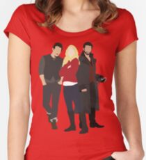 Neal, Emma, and Hook Women's Fitted Scoop T-Shirt