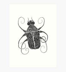 Doodle Bug 2 Art Print