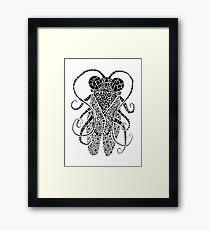 Doodle Bug 3 Framed Print