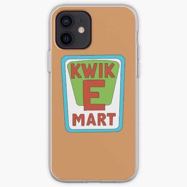 Kwik E Mart Simpsons logo iPhone Soft Case