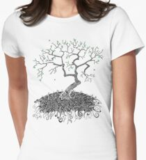 A Doodle Planted Women's Fitted T-Shirt