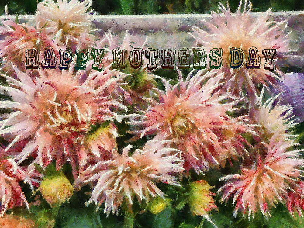 Mothers Day Dahlias by Elaine Game